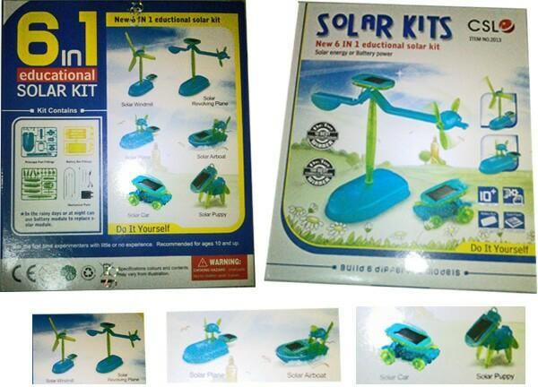 Foto Produk Kit Robot Solar Adalah Mainan Gadget Hijau Menyenangkan dari zahwaherbal