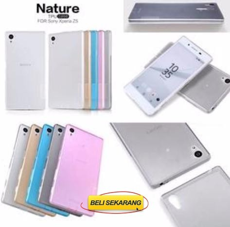 Nillkin nature softjacket tpu case Sony Xperia Z5 By Citra