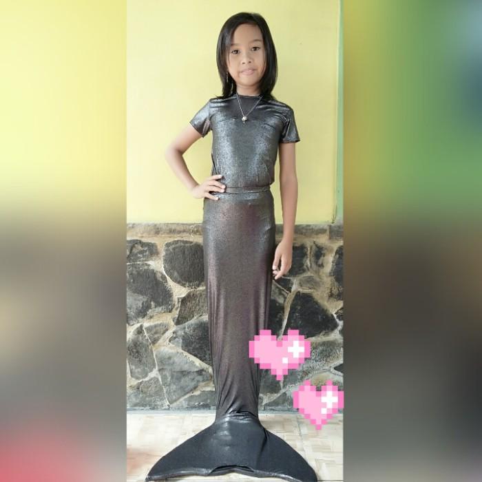 harga Mermaidtail/baju renang putri duyung size l tangan pendek 23-30kg Tokopedia.com