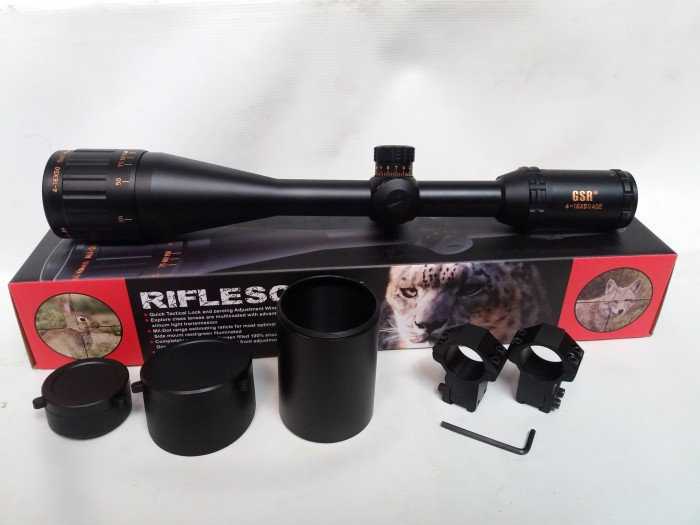 Reticle telescope tagged videos on videoholder