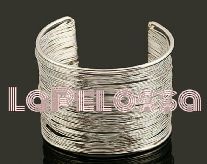 Foto Produk Gelang keroncong warna silver- Import dari LaPelosa Shop