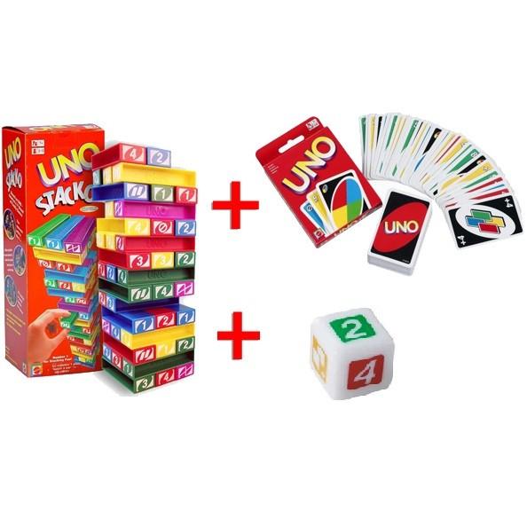 harga Paket uno stacko + kartu + dadu Tokopedia.com