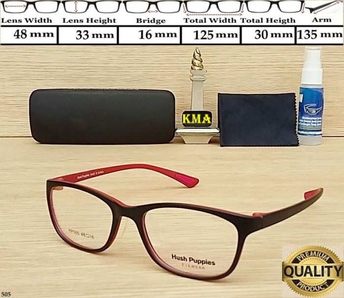 Jual Kacamata Minus Hush Puppies Premium Kacamata Flexible Kacamata ... 99afc2cacf