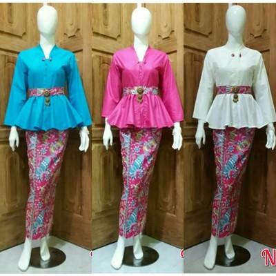 Jual Batik kantor wanita setelan Rok n blouse batik pesta