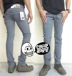 harga Celana jeans cheap monday grey/celana cheap monday abu/celana je Tokopedia.com
