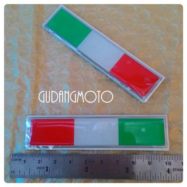 harga Sticker resin piaggio vespa lambretta car bendera italia Tokopedia.com