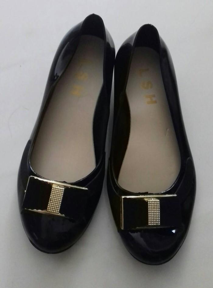 harga Jelly Shoes Wedges Pita Gold Tokopedia.com