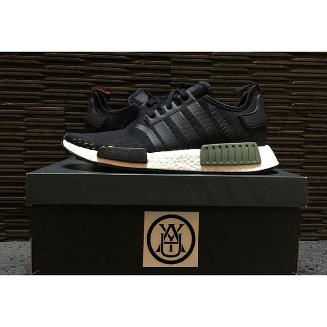 16050babbc3a3 Jual Adidas NMD R1 Green Base Core Black Footlocker Exclusive ...