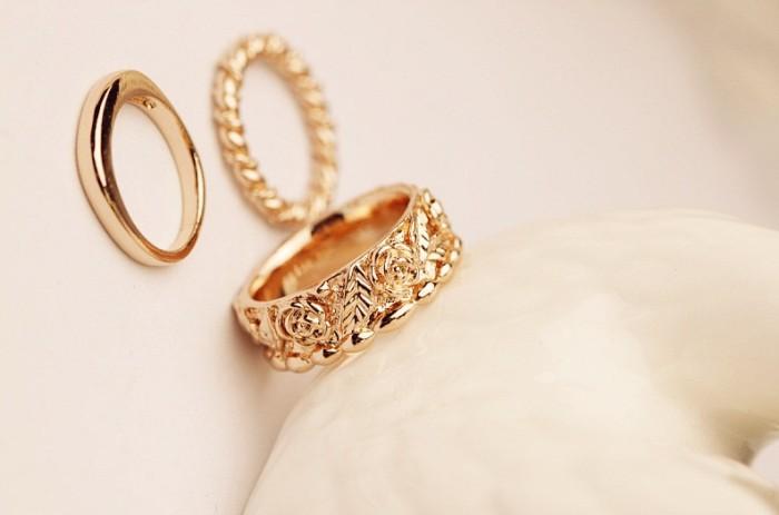 Foto Produk Z086 - Cincin Korea Eun Hye dari Queen's Kingdom