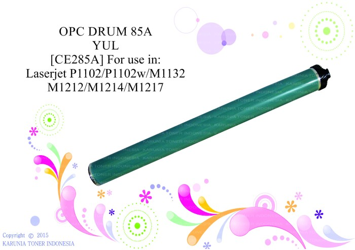 harga Opc drum 85a yul for use in laserjet p1102/p1102w/m1132/m1212/m1214 Tokopedia.com