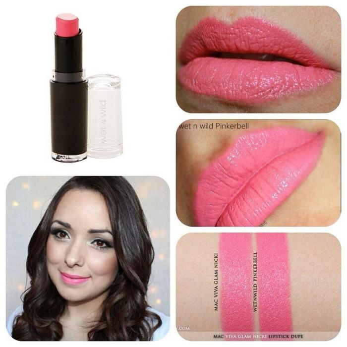 Wet n Wild Megalast Lip Color Lipstick Pinkerbell