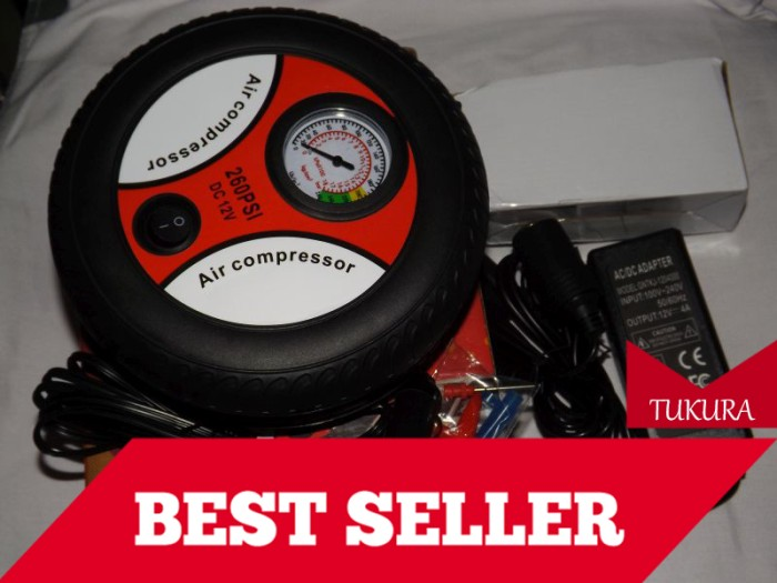 harga Pompa ban mobil motor kompresor listrik ac dc (220v/12v) Tokopedia.com