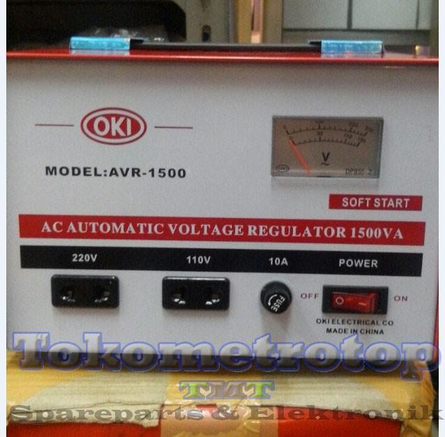 ... Pengatur Tegangan Voltage Listrik Adjustable. Source. ' Stabilizer listrik merek oki 1500va