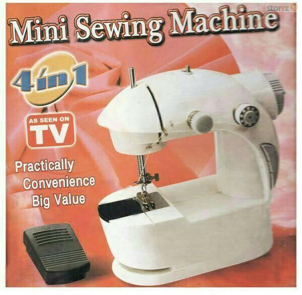 Foto Produk Mesin Jahit Portable 4 In 1/ Mini Sewing Machine 4 In 1, dari zahwaherbal