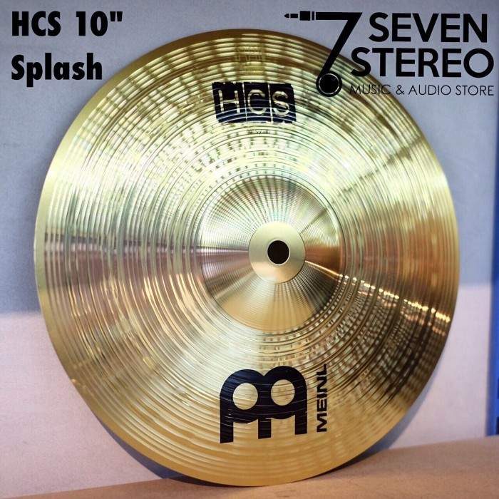 "Foto Produk Meinl Cymbal 10"" Splash Hcs dari SEVEN STEREO"