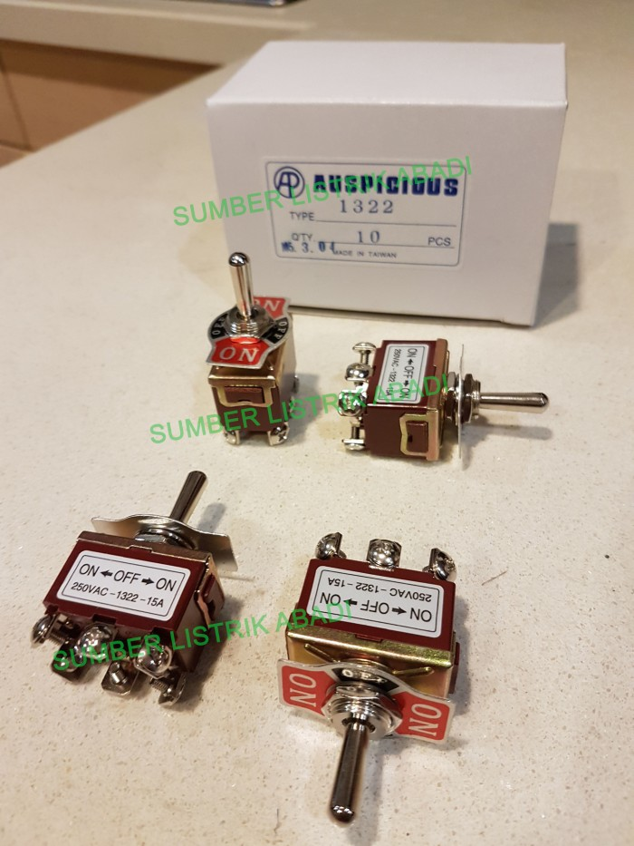 PC Board Mount C /& K SPDT ON-OFF-ON Toggle Switch />/>PACK OF 5/</<
