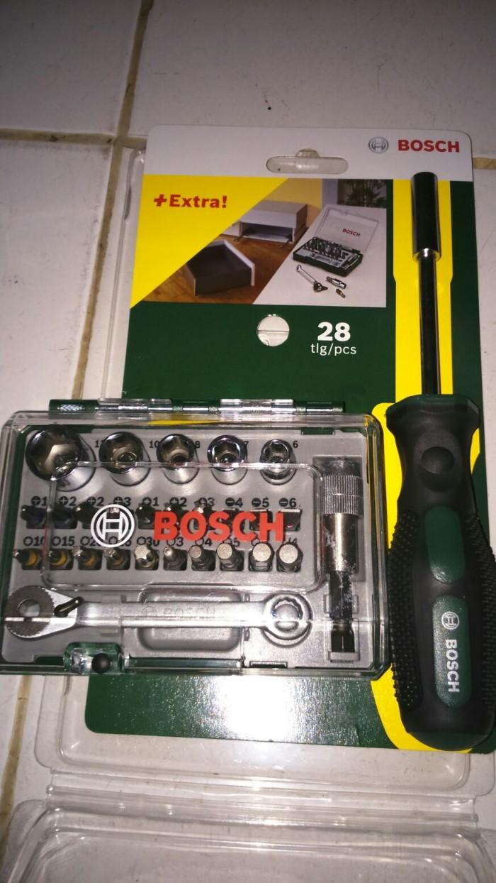 Jual Bosch Kunci Sok Mini Obeng Mata Set 28 Pcs Berkualitas Shok