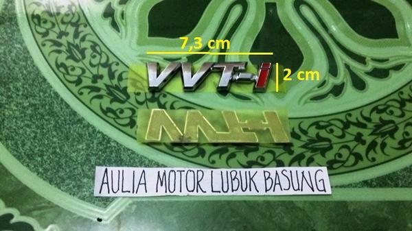 harga Emblem original tulisan vvti kecil untuk all new avanza xenia ru Tokopedia.com