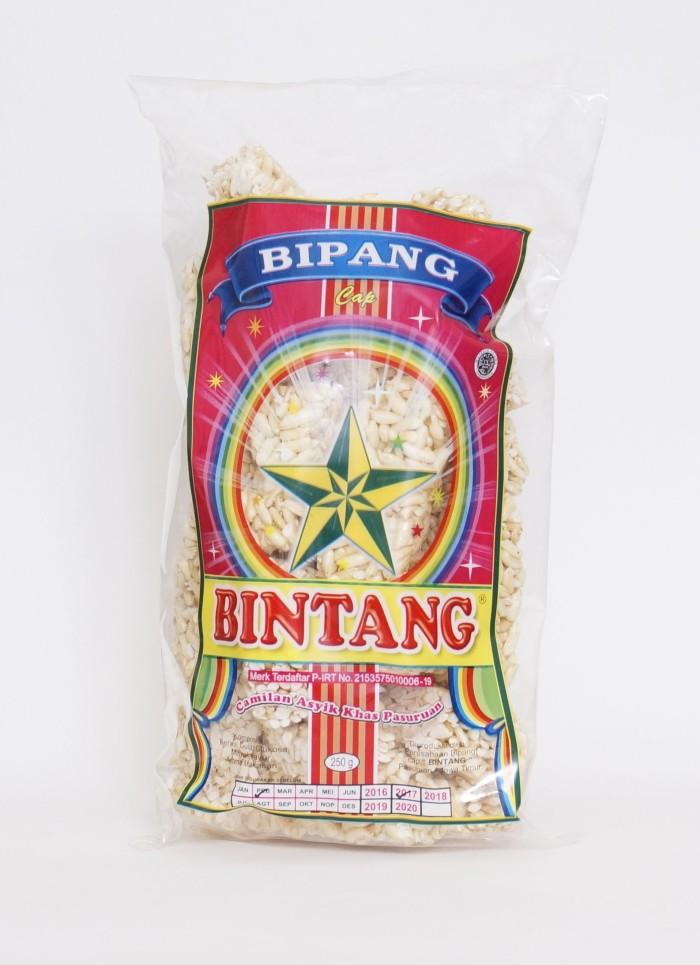 Bipang cap bintang/makanan ringan/jajanan bipang/camilan tradisional