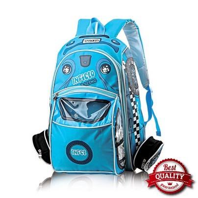 tas anak laki biru inficlo SCP 727 original asli cibaduyut