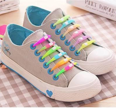 Jual Tali Sepatu Silikon   Easy Shoe Lace - Cadolu Shop  78adcb28f9