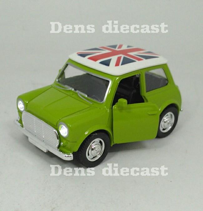 harga Diecast minicooper cooper morris mini hijau skala 1/38 Tokopedia.com