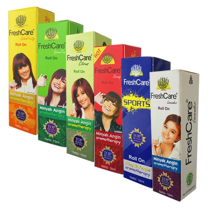 harga Freshcare minyak angin roll on aromatherapy - 6 botol Tokopedia.com
