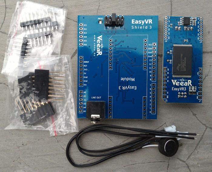 Jual EasyVR Shield 3 0 - Voice Recognition Shield - Kota Surabaya - Jual  Arduino Murah | Tokopedia