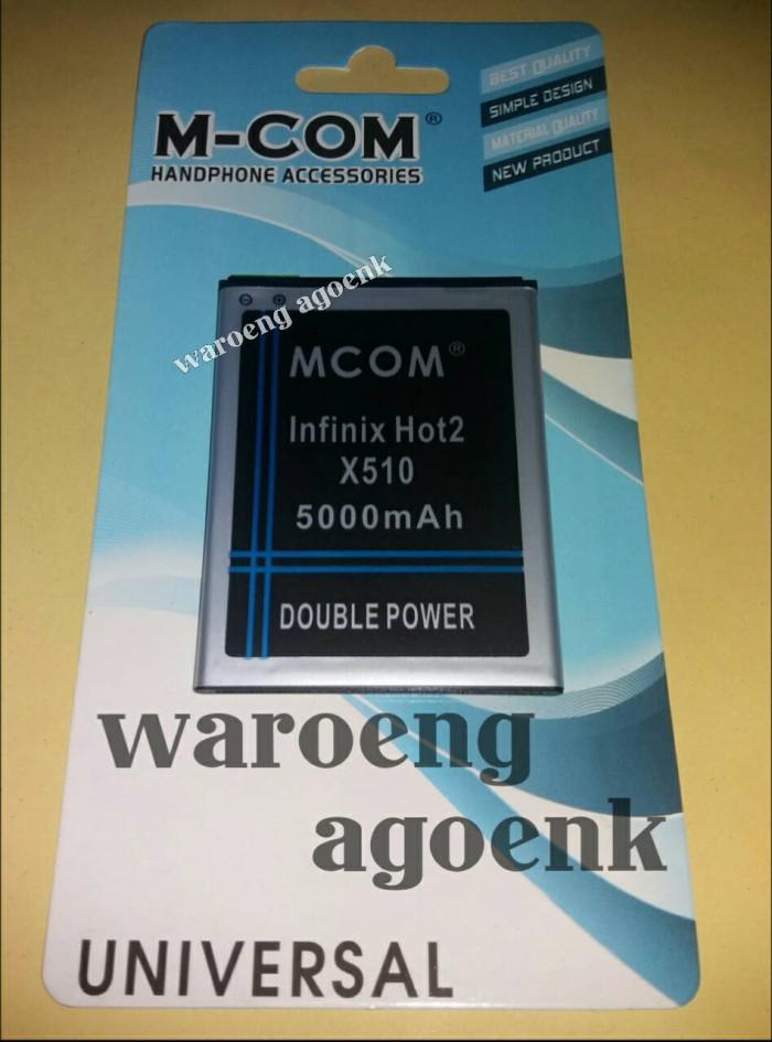 harga Baterai mcom infinix hot 2 x510 double power 5000 mah Tokopedia.com