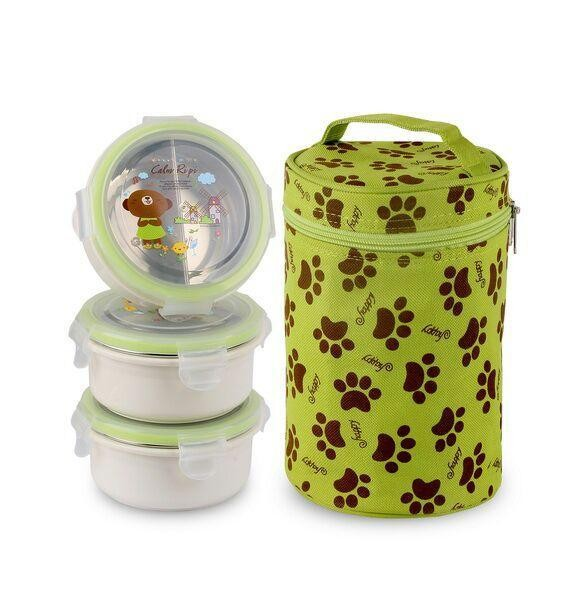 harga Gig Lunch Box Baby Rounded Bulat Stainless Steel Termos Makan Tokopedia.com