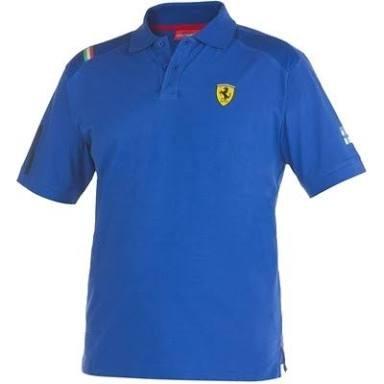 harga Kaos polo/baju polo/polo shirt ferrari (royal blue) Tokopedia.com