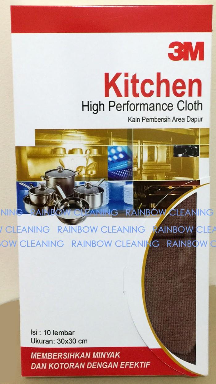 Jual 3m Kain Lap Microfiber Kitchen High Performance Cloth Coklat