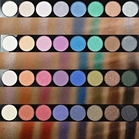 Jual Makeup Revolution Ultra 32 Shade Eyeshadow Palette Mermaids ... 02f4ebfed4b2a