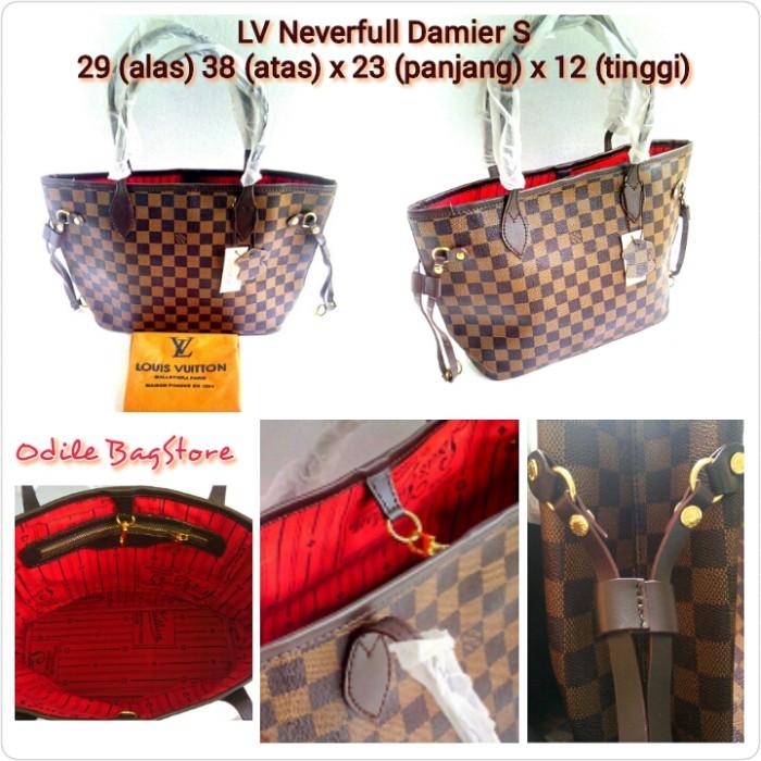 Jual Tas LV NEVERFULL Damier S ( Semi Super ) - LV NEVERFULL Damier ... 121959df1b
