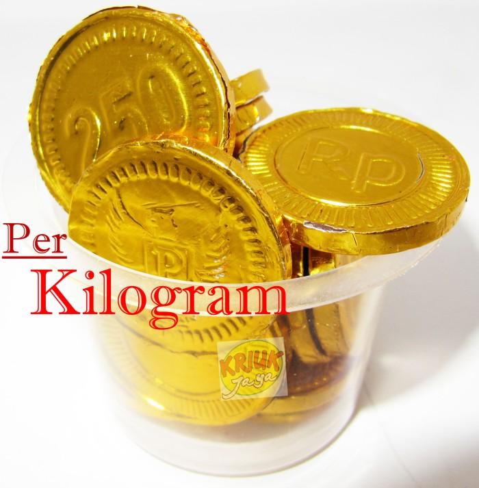 harga Coklat koin emas ( kiloan / curah ) Tokopedia.com