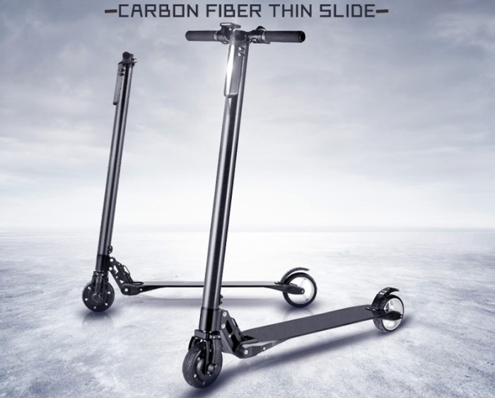harga Skuter elektrik lightweight carbon fiber scooter / otopet listrik Tokopedia.com