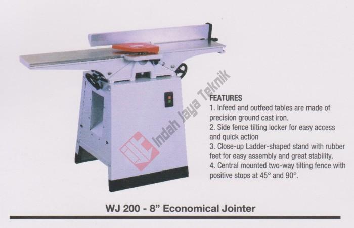 harga Wood jointer oscar 8  wj-200 / mesin jointer Tokopedia.com