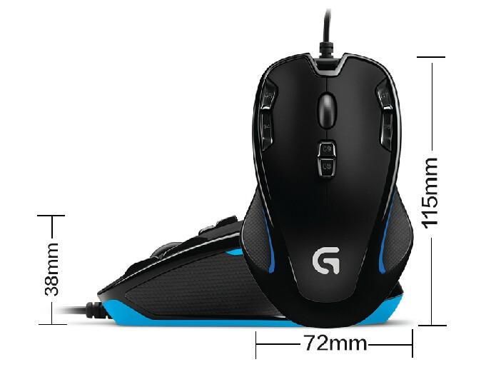 Foto Produk Mouse Logitech Gaming G300s G 300S dari FILM MEDIA