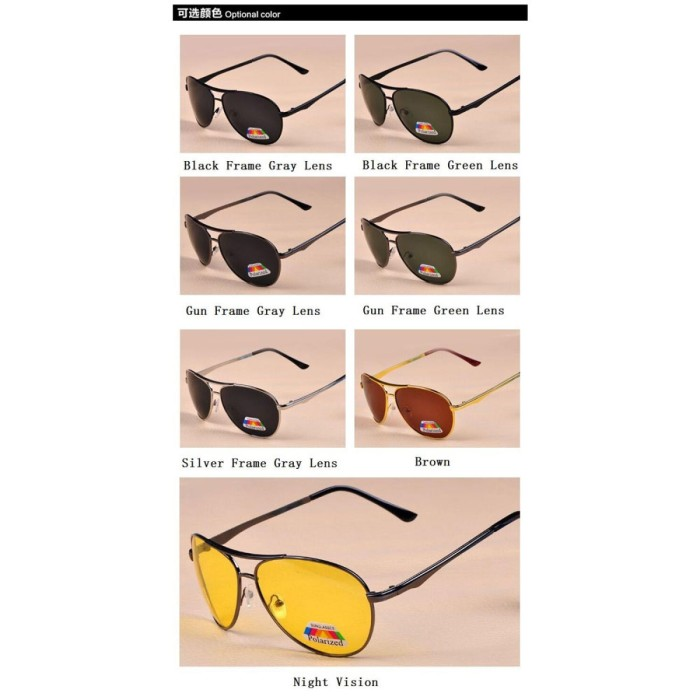 Jual Kacamata Hitam Polarized Sunglasses untuk Pria   Wanita ... 264e2d8da7