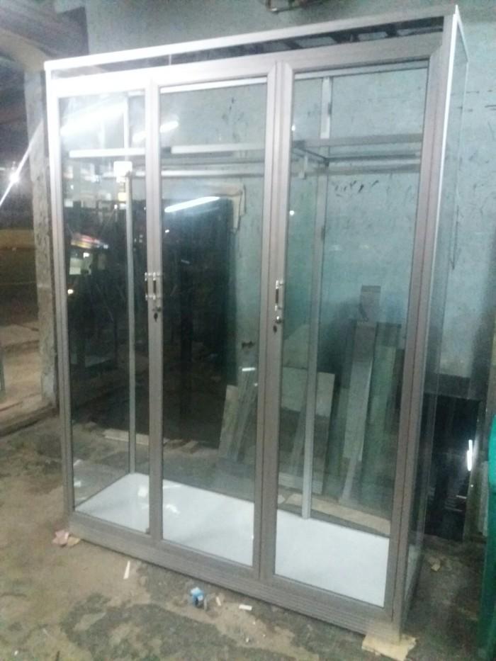 Lemari Harga Lemari Pakaian Aluminium 3 Pintu