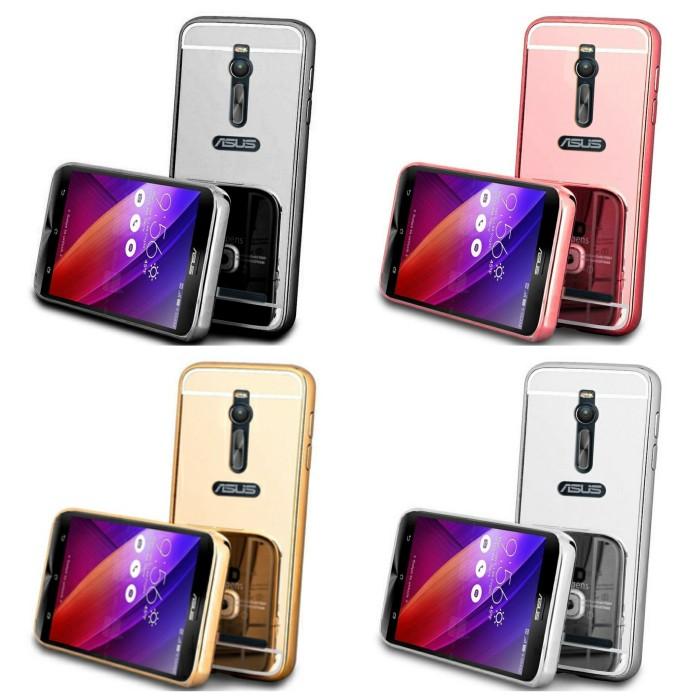 harga Bumper mirror case asus zenfone 2 5.5 in ze550ml ze551ml back case Tokopedia.com