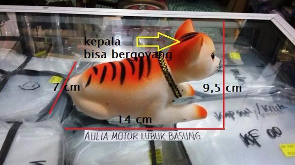 harga Aksesoris dashboard mobil boneka kucing kepala goyang - model cantik Tokopedia.com
