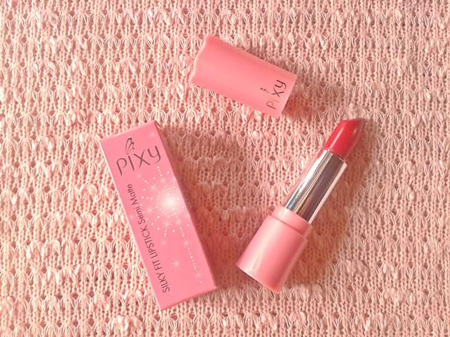 Pixy Silky Fit Lipstick Semi Matte .