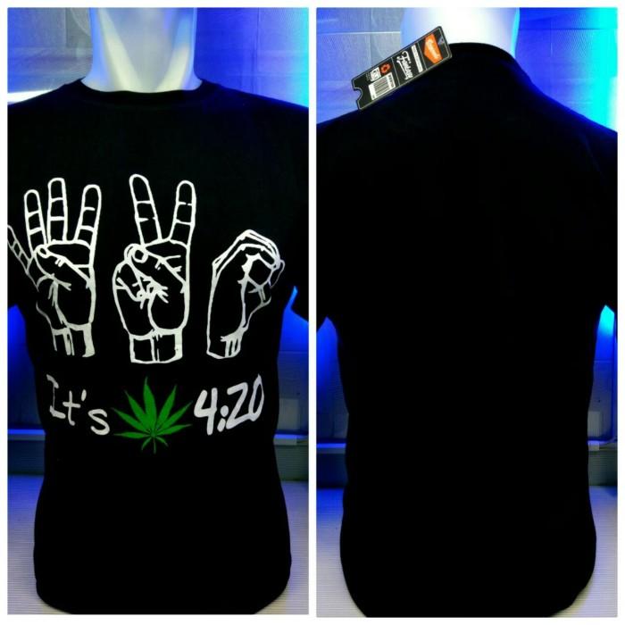 harga Kaos combed hitam 420 jari reggae rasta baju distro shirt Tokopedia.com