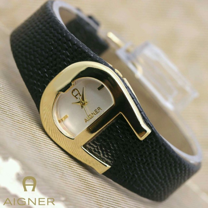 harga Jam tangan fashion aigner kulit a snake rosegold leather black Tokopedia.com
