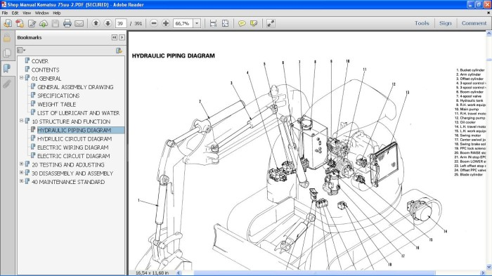 komatsu pc75uu 1 wiring diagram schematic wiring diagrams u2022 rh detox design co PC75UU Komatsu Excavators Komatsu PC75UU- 2