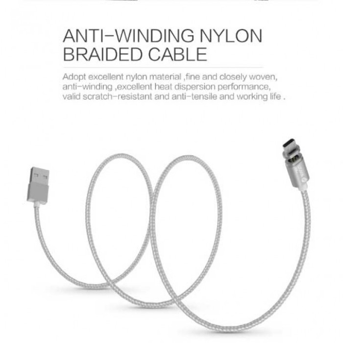 harga Wsken x-cable mini 2 magnetic cable 2 in 1 for micro usb and lighting Tokopedia.com