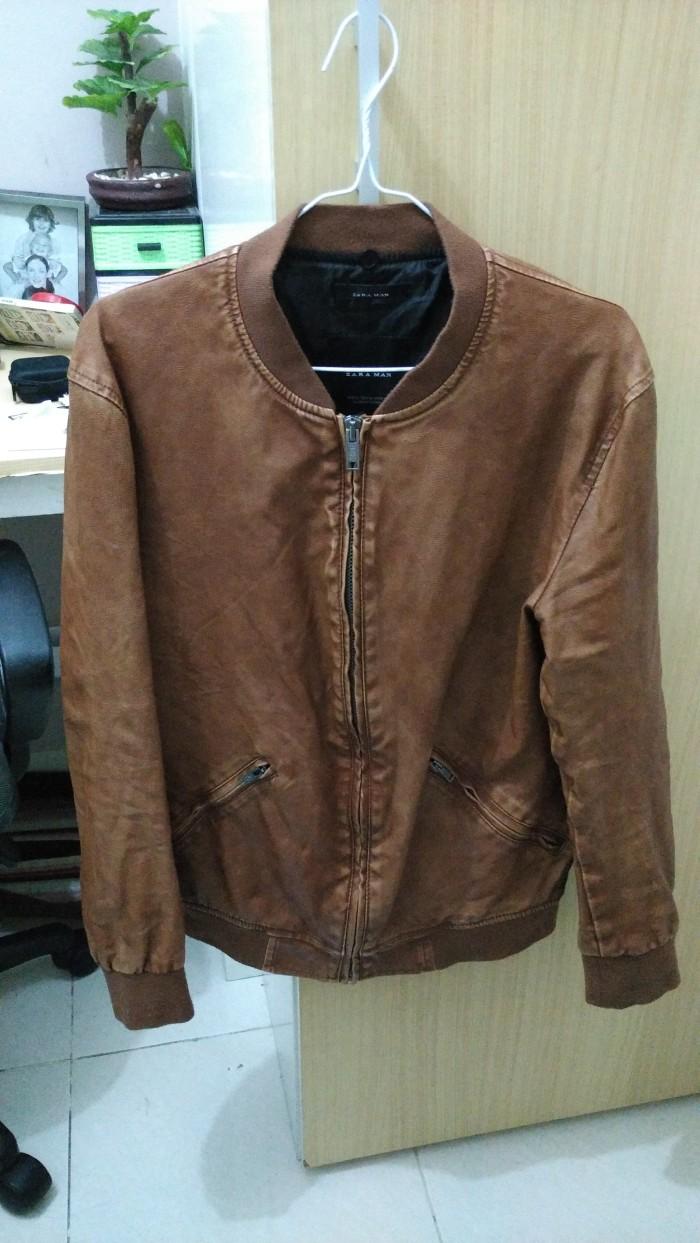 Jual Jual jaket zara man basic original warna coklat keren murah ... 064cafdab6