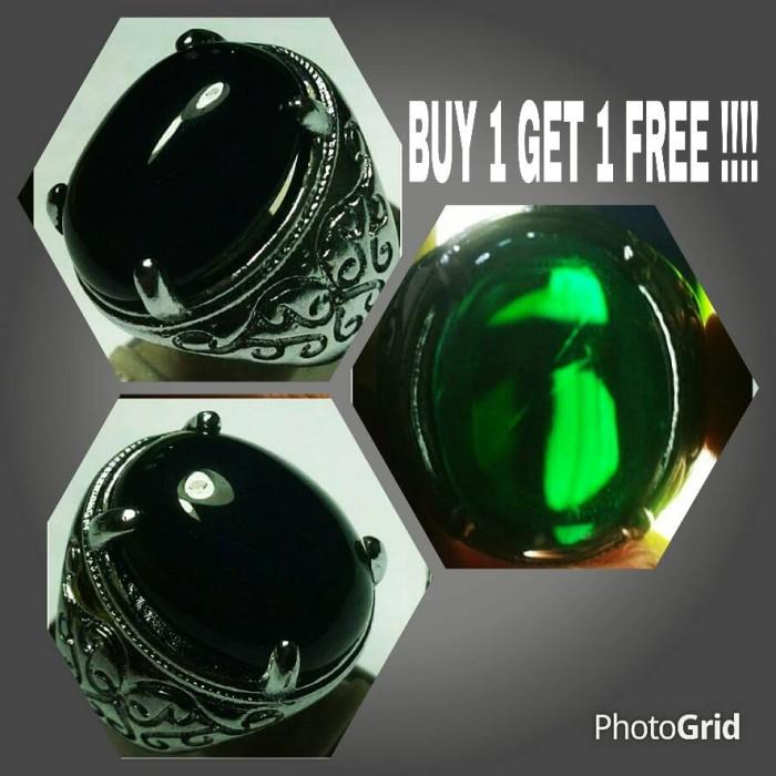 harga Beli 1 gratis 1 cincin batu akik kecubung daun wulung Tokopedia.com