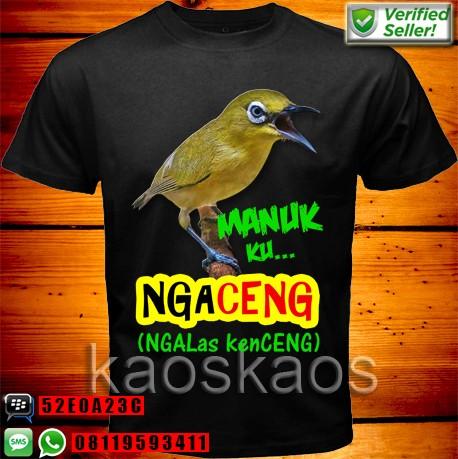harga Kaos Burung Pleci Ngalas Kenceng Tokopedia.com